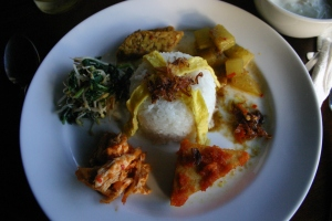 Nasi Campur Guesthouse Breakfast