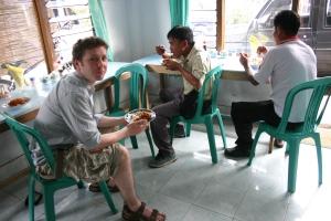 Lombok local nasi campur 2