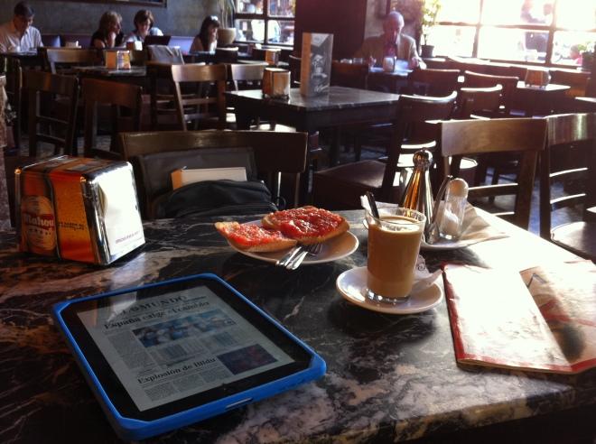 Cafe Comercial sun