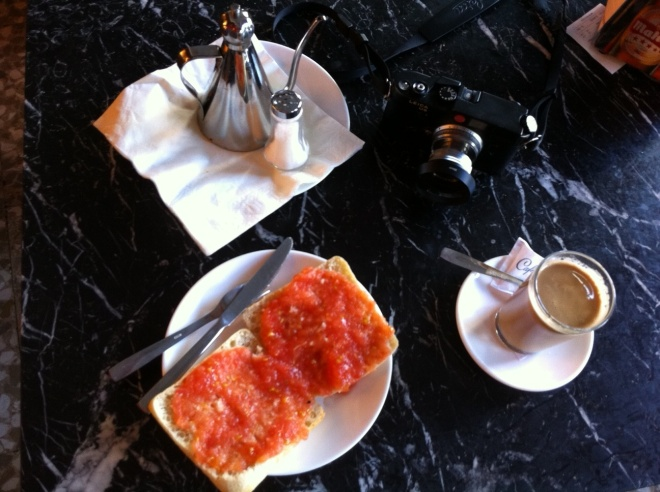 Breakfast in Madrid
