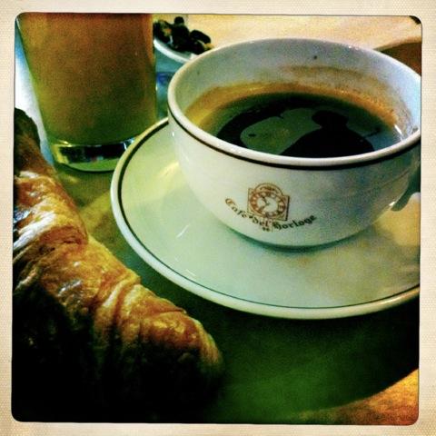 tasse croissant