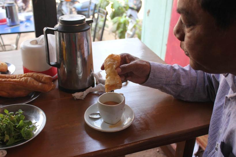 Breakfast in Bagan, Burma