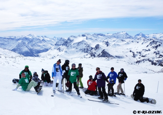 E-KLOZIN' Crew -  Winter X-Games Europe 2012 - Tignes