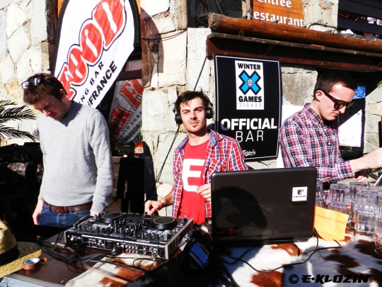E-KLOZIN' Mix Session - Winter X-Games Europe 2012 - Tignes