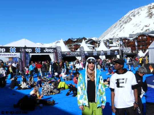 E-KLOZIN' - X-Fest - Winter X-Games Europe 2012 - Tignes