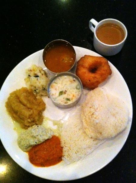 INDE Madurai breakfast