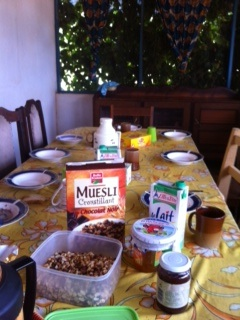 breakfast central african republic