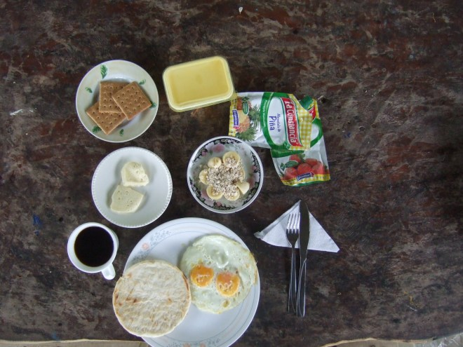 breakfast in colombia